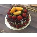 """Торт """"Клубничный сад"""""""