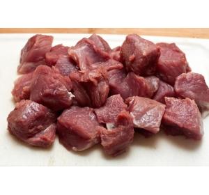 Гуляш говяжий из свежего мяса