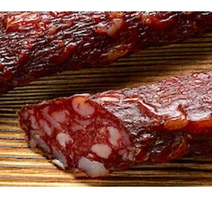 Говяжья сырокопченая колбаса