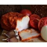 Сало с перцем, чесноком, базиликом и тмином