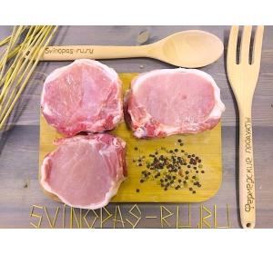 Корейка свиная на кости (эскалоп)