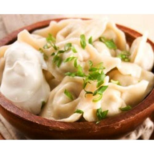 Вареники с картошкой и солеными груздями пошаговый рецепт